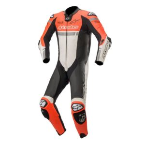 mono-alpinestars-missile-ignition-leather-suit-tech-air-compatible-rojo-fluor-blanco-negro