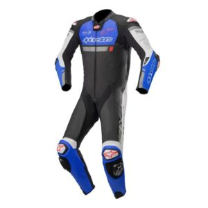 mono-alpinestars-missile-ignition-leather-suit-tech-air-compatible-negro-azul-electrico-blanco