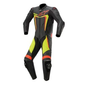 mono-alpinestars-motegi-v3-leather-suit-negro-amarillo-fluor-rojo-fluor