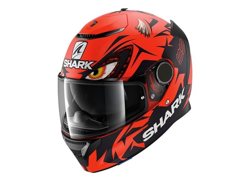 Casco Shark Spartan 1.2 LORENZO MAT GP Red Black Red