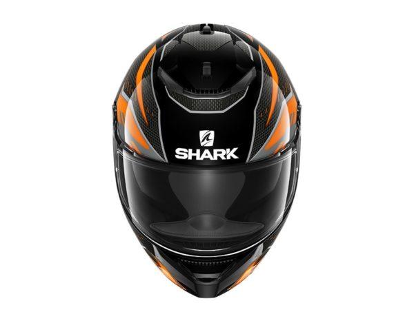 Casco Shark Spartan 1.2 ANTHEON Black Orange Black