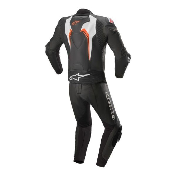 mono-alpinestars-motegui-v3-2pc-leather-suit-negro-rojo-fluor-blanco