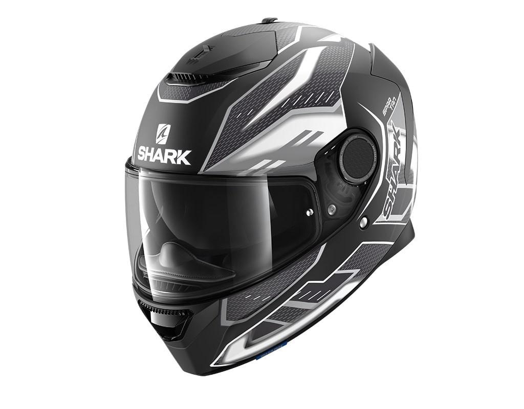 casco-shark-spartan-12-antheon-mat-black-white-black