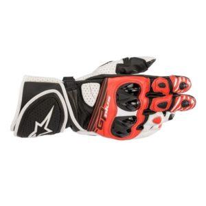 guantes-alpinestars-gp-plus-v2-negros-blancos-rojos