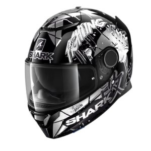 casco-shark-spartan-12-lorenzo-catalunya-gp-black-white-glitter