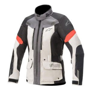 chaqueta-alpinestars-stella-valparaiso-v3-drystar-gris-claro-gris-oscuro-rojo