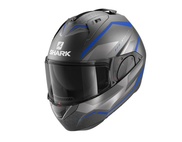 casco-shark-evo-es-mat-anthracite-blue-silver