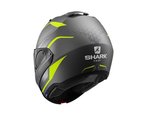 casco-shark-evo-es-mat-anthracite-yellow-silver
