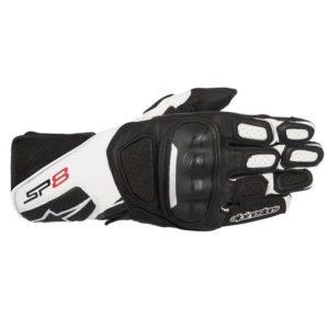 guantes-de-cuero-alpinestars-sp-8-v2-negros-blancos