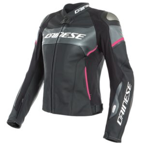 Chaqueta Dainese RACING 3 D-AIR LADY Black Anthracite Fuchsia