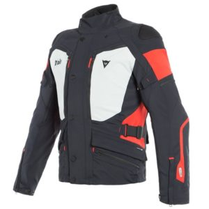 Chaqueta Dainese CARVE MASTER 2 D-AIR GORE-TEX Black Light Gray Red
