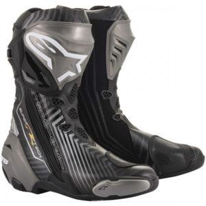 botas-alpinestars-supertech-r-negras-grises