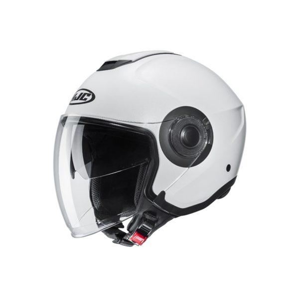 CASCO HJC i40 Semi Flat / PEARL WHITE