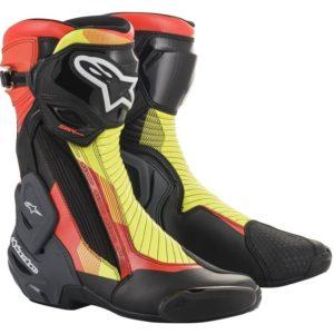 botas-alpinestars-smx-plus-v2-negras-rojas-fluor-amarillas-fluor-grises
