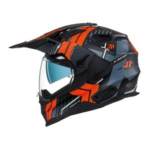 CASCO NEXX X.WED2 WILD COUNTRY BLACK MT/ORANGE