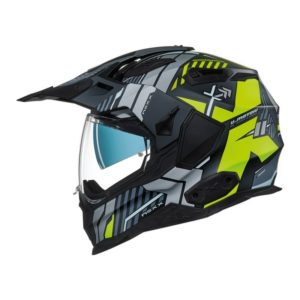 CASCO NEXX X.WED2 WILD COUNTRY BLACK/NEON YELLOW MT