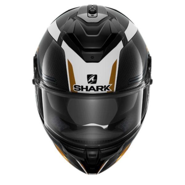 casco-shark-spartan-gt-carbon-tracker-negro-verde-oro-blanco