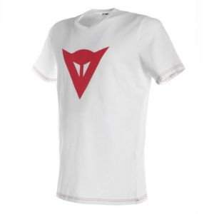 Camiseta Dainese Speed Demon Blanca Roja