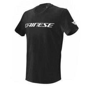 Camiseta Dainese T-SHIRT Negra Blanca