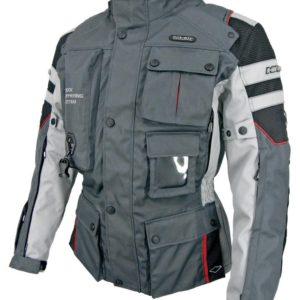 Chaqueta Hit Air Airbag Motorrad-2 Gris Rojo