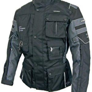 Chaqueta Hit Air Airbag Motorrad-2 Negro Gris