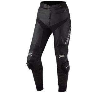 Pantalon IXS de piel Rouven Negro
