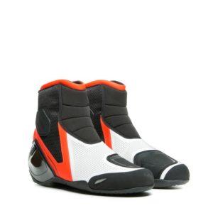 Botas Dainese Dinamica Air Shoes Negra Rojo Fluor Blanca