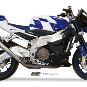 ESCAPES MIVV APRILIA - MIVV X-CONE ACERO INOX TUONO FIGHTER 1000 (2006-2010) -