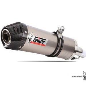 ESCAPES MIVV BMW - Mivv oval titanio,copa carbono BMW R 1150 GS (99 en adelante) -