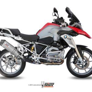 ESCAPES MIVV BMW - Mivv oval titanio,copa carbono BMW R 1200 GS (2013 EN ADELANTE) -