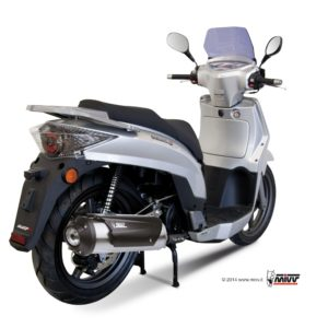 ESCAPES MIVV KYMCO - Escape MIVV URBAN Kymco PEOPLE S 125 (08-09) / PEOPLE S 200 (05-08) -