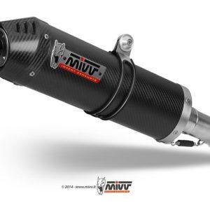 MOTO GUZZI - Escape MIVV OVAL CARBONO,COPA CARBNO Moto Guzzi GRISO 850 / 1100 / 1200 (2006+) -