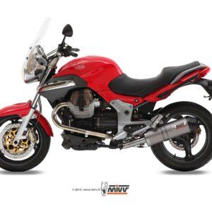 MOTO GUZZI - Escape MIVV OVAL TITANIO,COPA CARBONO Moto Guzzi BREVA 1100 (2005+) -