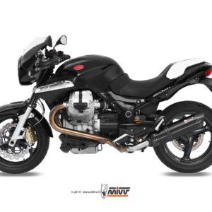 MOTO GUZZI - Escape MIVV SUONO STEEL BLACK Moto Guzzi BREVA 1200 (2007+) -