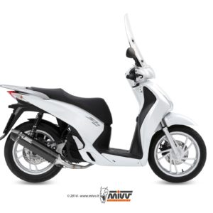 ESCAPES MIVV HONDA - SISTEMA COMPLETO Mivv Honda SH 125 2013+ STRONGER STEEL BLACK -