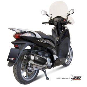 ESCAPES MIVV HONDA - SISTEMA COMPLETO Mivv URBAN Honda SH 300 2007+ -