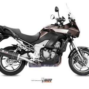 ESCAPES MIVV KAWASAKI - ESCAPE MIVV Kawasaki VERSIS 1000 2012+ OVAL CARBONO,COPA CARBONO -