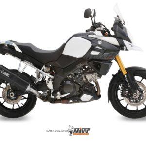 SUZUKI - Escape MIVV Suzuki DL V-STROM 1000 (2014+) SPEED EDGE STEEL BLACK -