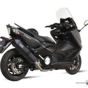 ESCAPES MIVV YAMAHA - MIVV Speed Edge STEEL BLACK T-MAX 530 (2012) -