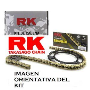 KITS DE TRANSMISION RK/JT APRILIA - KIT DE TRANSMISION RK APRILIA MX 125 -