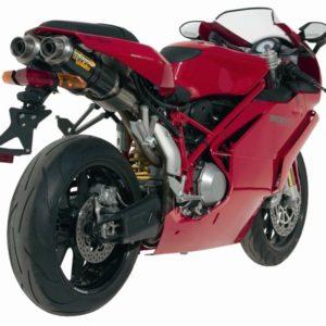 DUCATI 999 2003 - Mivv GP carbono (bajo colín) Ducati 999 2003-2006 -