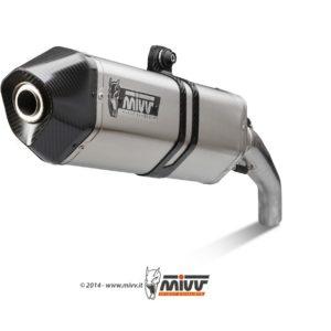 ESCAPES MIVV DUCATI - Escape Mivv SPEED EDGE INOX Ducati Multistrada 1200 2010+ -