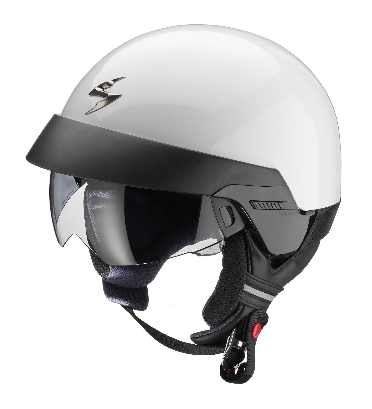 SCORPION EXO 100 - CASCO SCORPION EXO 100 SOLID BLANCO -