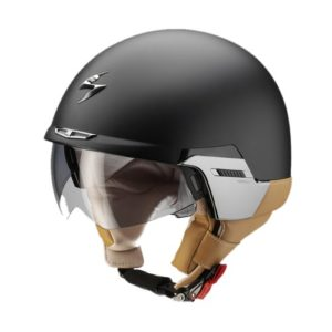 SCORPION EXO 100 - CASCO SCORPION EXO 100 PADOVA 2 NEGRO MATE -