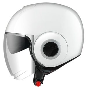 NANO - CASCO SHARK NANO BLANK BLANCO BRILLO -