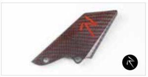 Estriberas regulables - RED CARBON HEEL GUARD- GEAR SIDE LIGHTECH -