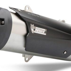 ESCAPES MIVV APRILIA - MIVV FULL SYS. 1x1 STEEL INOX APRILIA SR MAX 300 (2012 +) -