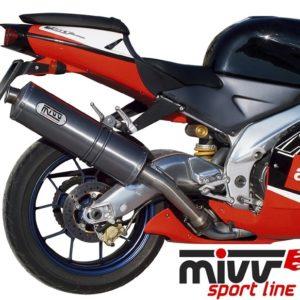 ESCAPES MIVV APRILIA - MIVV OVAL TITANIO RSV 1000 (1998-2003) -
