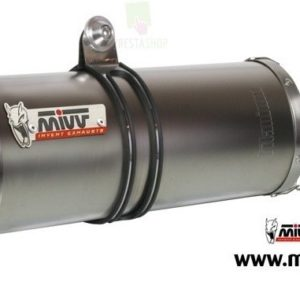 ESCAPES MIVV APRILIA - MIVV OVAL ACERO INOX TUONO FIGHTER 1000 (2006-2010) -