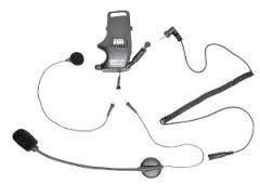 PANTALONES VAQUEROS PARA MOTO - Kit de Abrazadera para Casco - para auriculares con Micrófono de brazo acoplable & Micró
